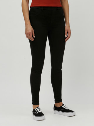 Černé regular jeggings Dorothy Perkins Eden