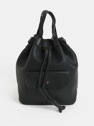 Rucsac/geanta bucket neagra Claudia Canova Kagan