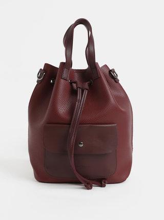 Vínový batoh/vaková kabelka Claudia Canova Kagan