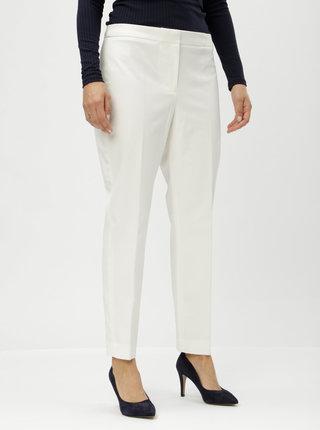 Krémové kalhoty DKNY Ankle