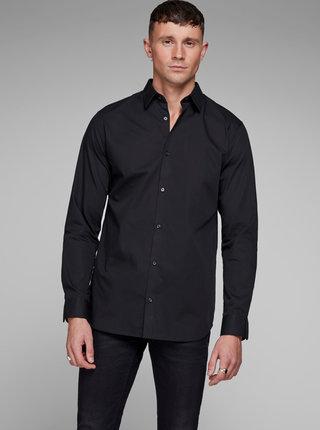 Camasa neagra slim fit pentru barbati - Jack & Jones Non