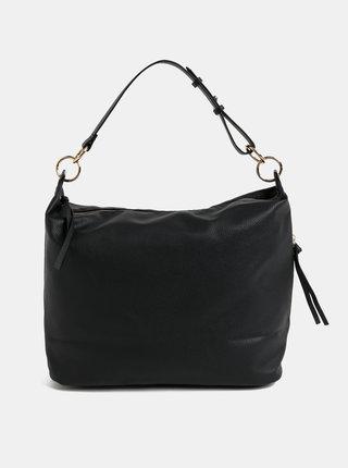 Černá velká kabelka se střapci Dorothy Perkins Hobo