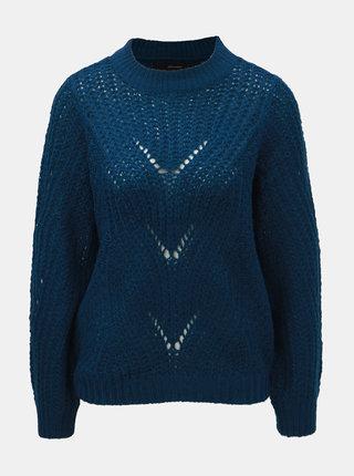 Modrý sveter VERO MODA Wishi