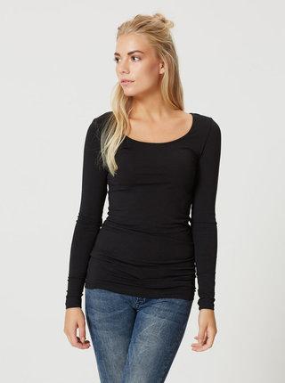 Bluza basic neagra lunga VERO MODA Maxi My