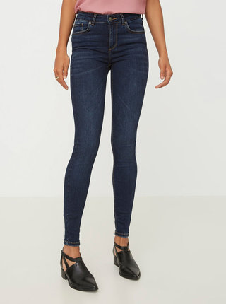 Tmavomodré super slim fit rifle VERO MODA Lux