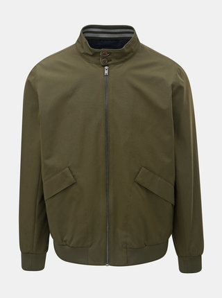Kaki tenký bomber Burton Menswear London Harrin