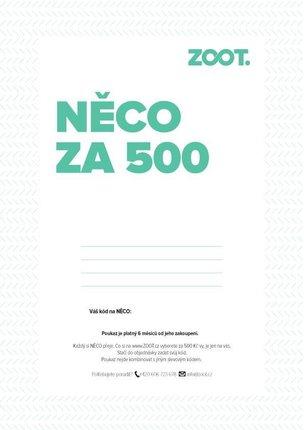 Elektronický poukaz na NĚCO ze ZOOTu v hodnotě 500 Kč
