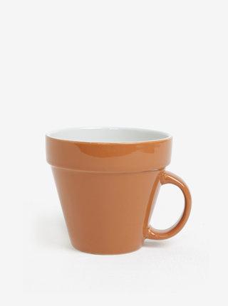 Cana ceramica sub forma de ghiveci de flori- Gift Republic