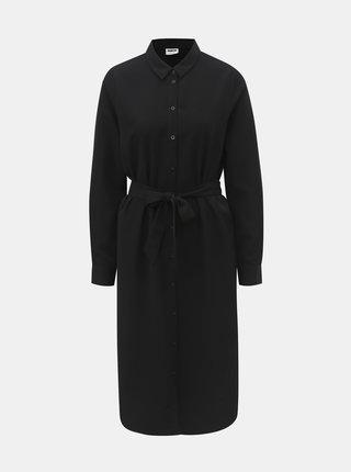 Černé šaty s páskem Noisy May Julie