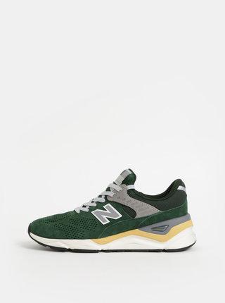 Zelené pánske semišové tenisky New Balance X-90