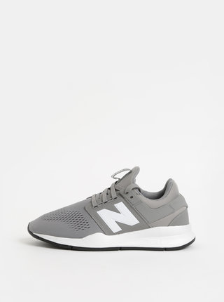 Sivé pánske tenisky New Balance 247
