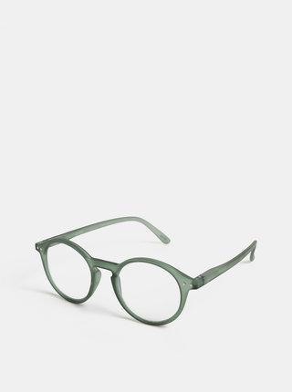 Zelené unisex ochranné okuliare k PC IZIPIZI #D