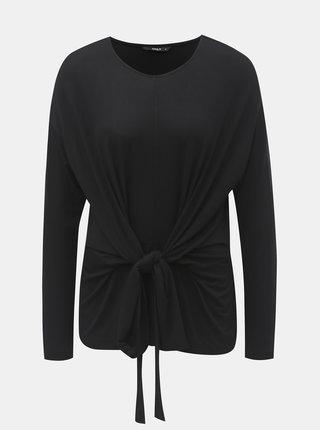Tricou negru cu snur ONLY Tine