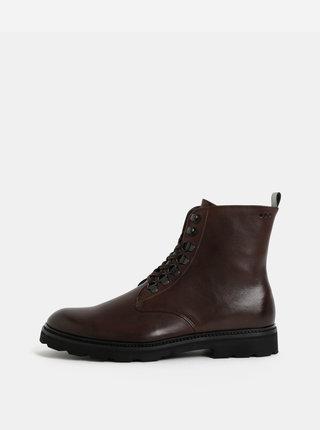 Hnedé pánske členkové topánky Royal RepubliQ