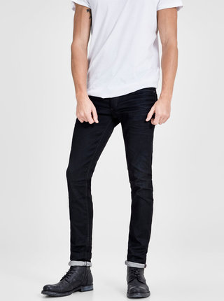 Čierne slim rifle Jack & Jones Tim
