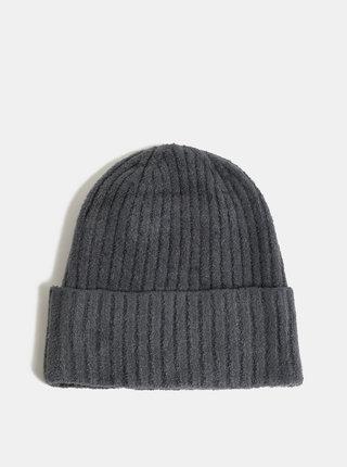 Sivá čiapka touch me.
