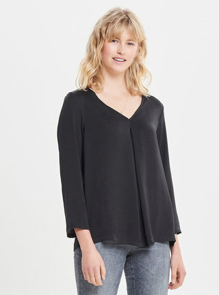 Bluza neagra cu maneci lungi ONLY Natalia