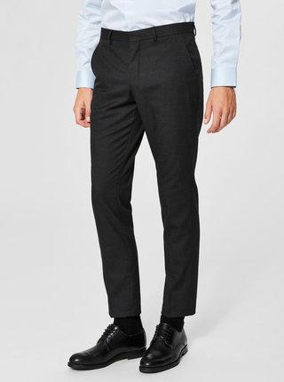 Tmavosivé nohavice Selected Homme Slim