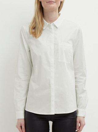 Krémová košeľa VILA Chau