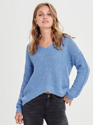 Modrý pletený svetr Jacqueline de Yong Megan