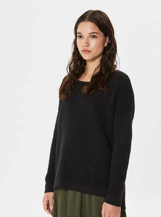 Čierny sveter Selected Femme Laua