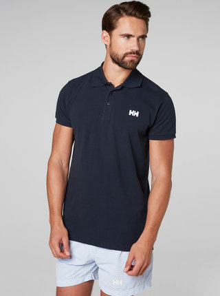 Modré regular fit polo tričko HELLY HANSEN