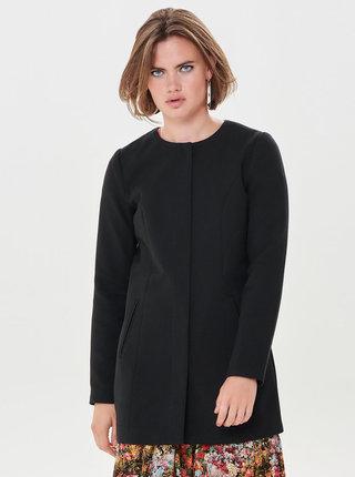 Černý kabát Jacqueline de Yong New Brighton