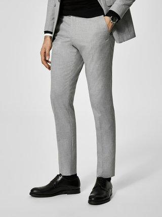 Pantaloni gri de costum Selected Homme Newone