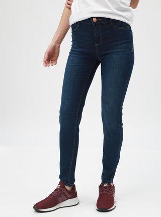 Tmavě modré super skinny džíny Dorothy Perkins Petite Frankie