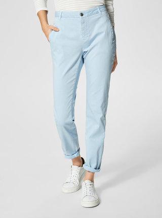 Pantaloni albastri chino Selected Femme Ingrid