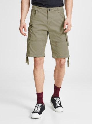 Pantaloni cargo scurti bej -  Jack & Jones Chop
