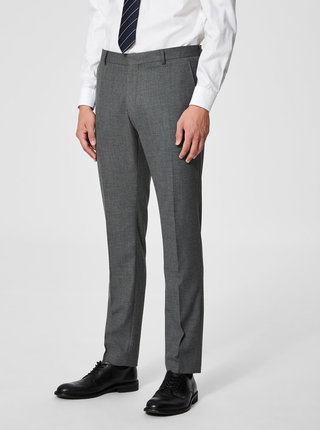 Pantaloni formali gri Selected Homme