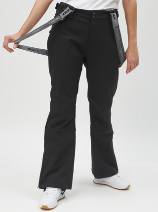 Pantaloni de schi negri de dama softshell LOAP Lizzy