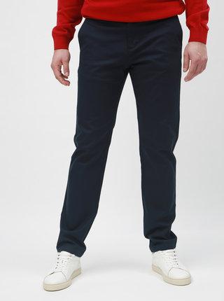 Tmavě modré slim kalhoty Selected Homme Carlo