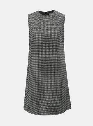 Sivé vzorované šaty bez rukávov Apricot