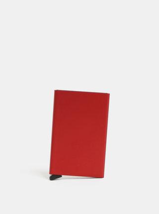 Červené pouzdro na karty Secrid Cardprotector
