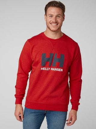 Bluza sport barbateasca rosie cu imprimeu HELLY HANSEN