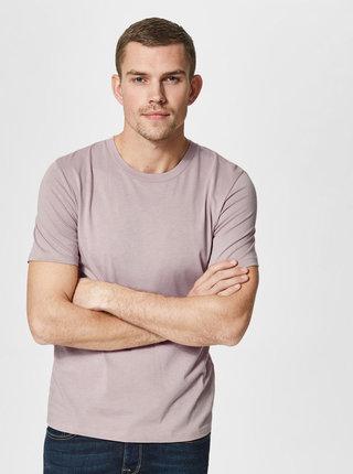 Staroružové basic tričko Selected Homme The Perfect