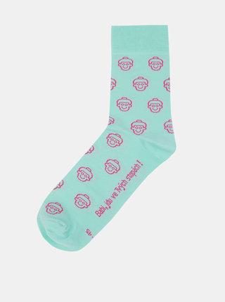 """""""Dobré"""" modré ponožky pro Krásu pomoci"""