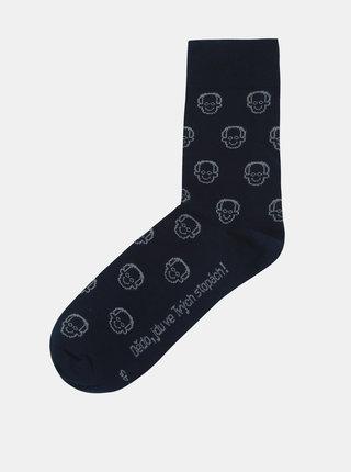"""""""Dobré"""" tmavě modré ponožky pro Krásu pomoci"""