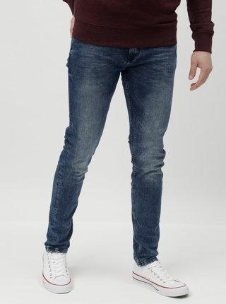 Modré slim fit džíny Shine Original