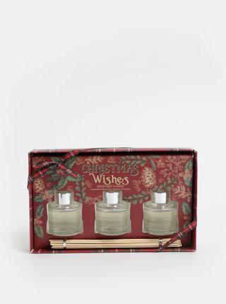 Set de 3 difuzoare cu aroma de cuisoare si ghimbir in cutie cadou SIFCON