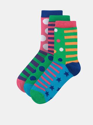 Súprava troch dámskych ponožiek Oddsocks Chloe