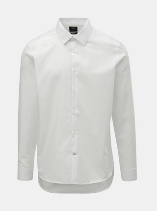 Camasa alba formala slim fit Burton Menswear London