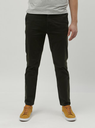Kaki slim chino nohavice Burton Menswear London