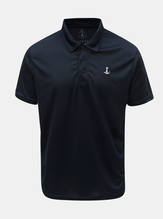 Tricou polo functional albastru inchis Mr. Sailor