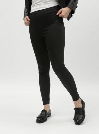 Černé jeggings s vysokým pasem Miss Selfridge