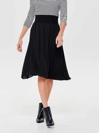 Čierna áčková sukňa ONLY Liva