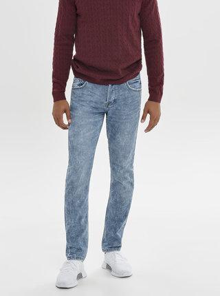 Světle modré slim fit džíny ONLY & SONS