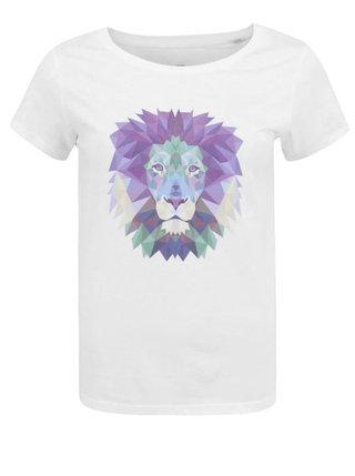 Biele dámske tričko ZOOT Originál Lev